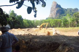 Krabi School construction 26 Feb 2015