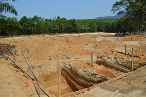 Krabi school ground breaking