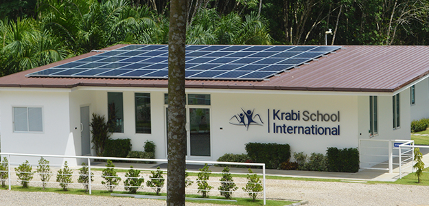 Thailand solar powered school