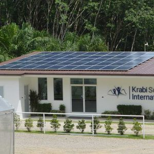 Solar powered school