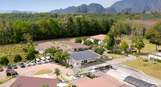 Krabi School Aerial Photo