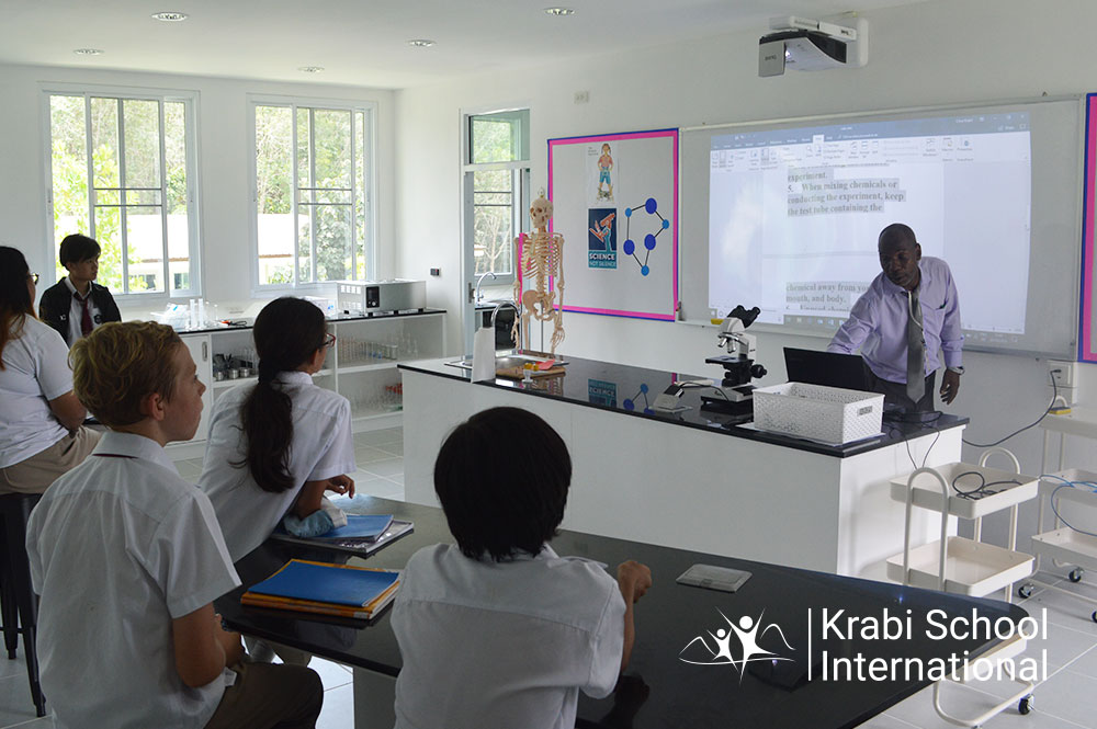 krabi school science lab